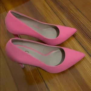 Pink Pointy Toe Heels